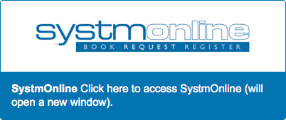 SystmOnline.  Click here to access SystmOnline (will open in a new window)